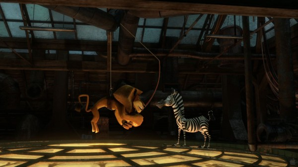 Alex the Lion and Marty the zebra in Madagascar 3 Europe's Most Wanted movie wallpaper