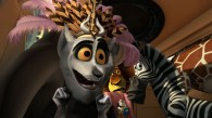 KIng Julian the lemur from Dreamworks Madagascar 3: Europe's Most Wanted wallpaper