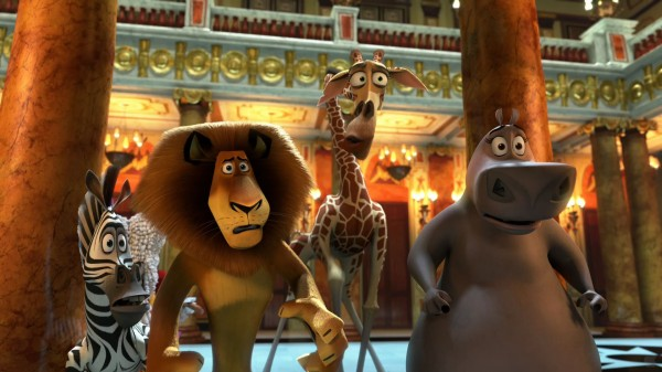 the animal cast of Madagascar 3: Europe's Most Wanted wallpaper