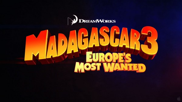 title card for Madagascar 3: Europe's Most Wanted wallpaper