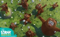 Bar-Ba-Loots (bears like creatures) from Dr Seuss' Lorax Movie wallpaper