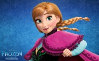 Princess Anna from Disney's movie Frozen wallpaper