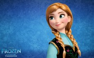 Anna from Disney's movie Frozen wallpaper