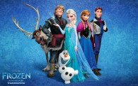 The cast from Disney's movie Frozen wallpaper