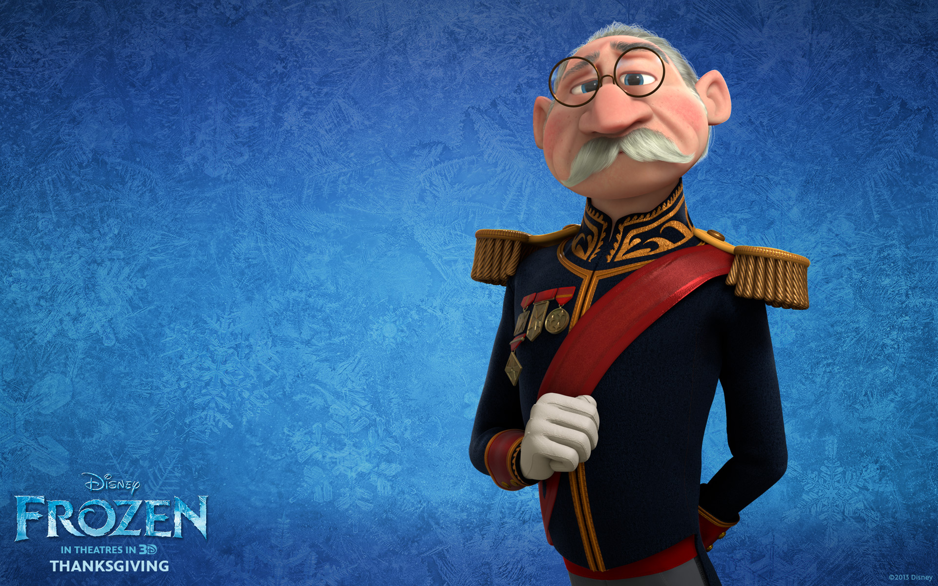 The Duke Of Weselton From Disneys Movie Frozen Wallpaper