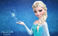 Elsa from Disney's movie Frozen wallpaper