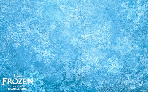 Ice background from Disney's movie Frozen wallpaper