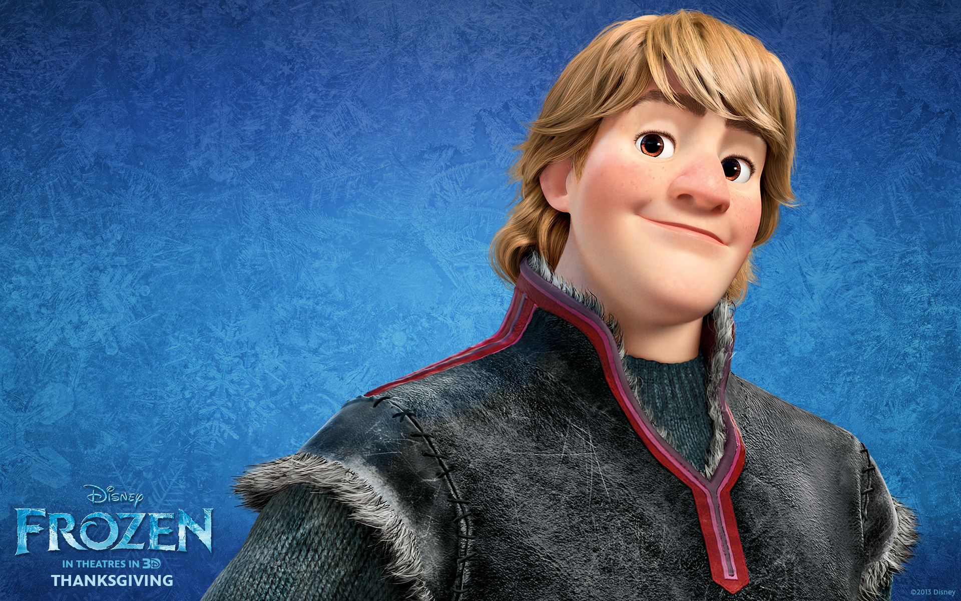 kristoff from disney's frozen desktop wallpaper