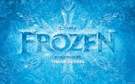 Title logo from Disney movie Frozen wallpaper