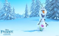 Olaf the snowman from Disney movie Frozen wallpaper
