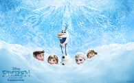 Cast from Disney's movie Frozen wallpaper