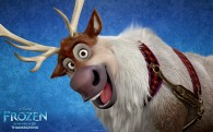 Sven the reindeer from Disney's movie Frozen wallpaper