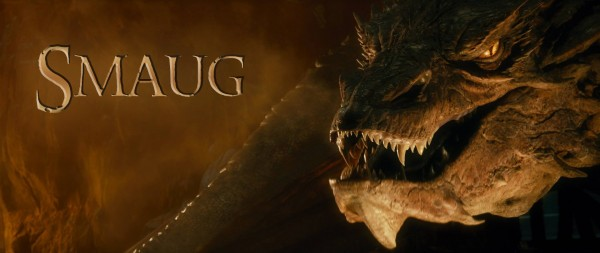 Smaug the dragon from the movie The Hobbit: The Desolation of Smaug wallpaper