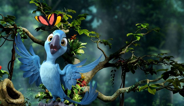 Bia from Rio 2 movie wallpaper