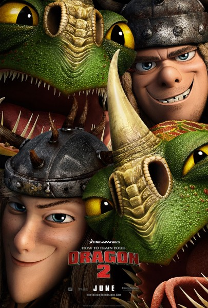 Ruffnut, Tuffnut, Barf and Belch from How to Train Your Dragon 2 movie wallpaper