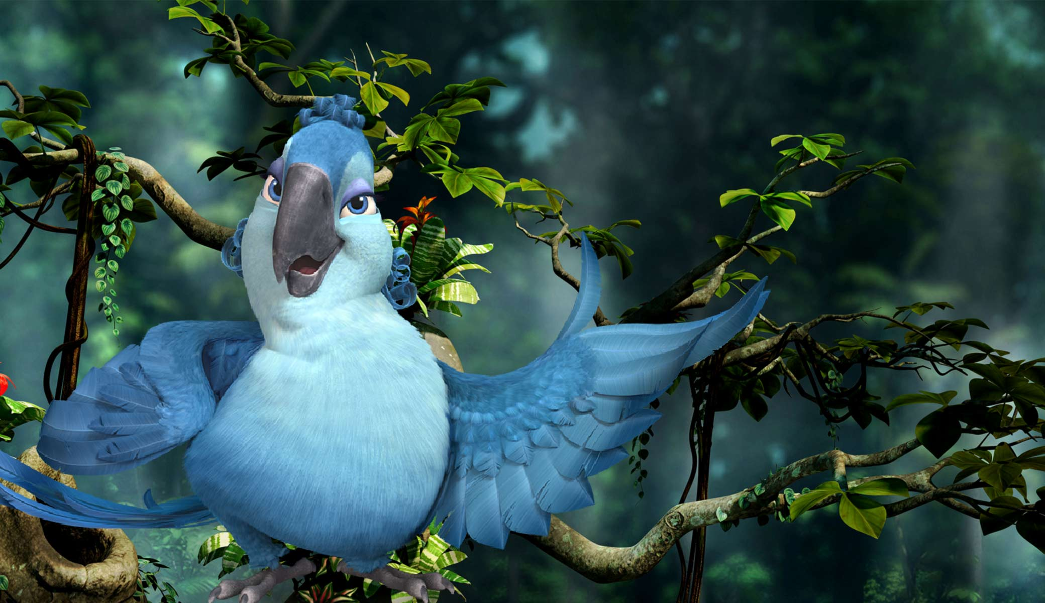 mimi from rio 2 desktop wallpaper