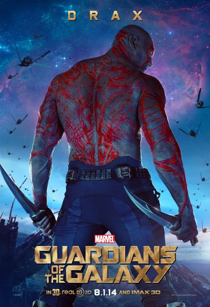 Drax from Marvel's Guardians of the Galaxy