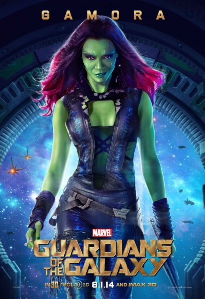 Gamora from Marvel's Guardians of the Galaxy wallpaper
