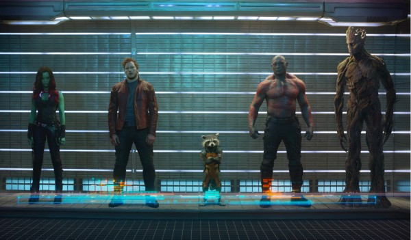 line-up of the main characters from Marvel's Guardians of the Galaxy wallpaper