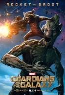 Rocket Raccoon and Groot from Marvel's Guardians of the Galaxy movie wallpaper