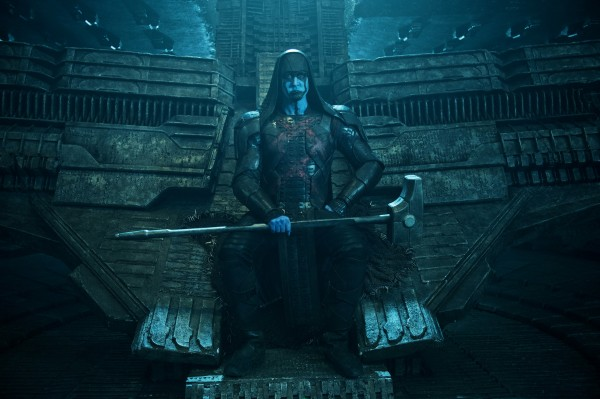 Ronan on his throne from Marvel's Guardians of the Galaxy movie wallpaper