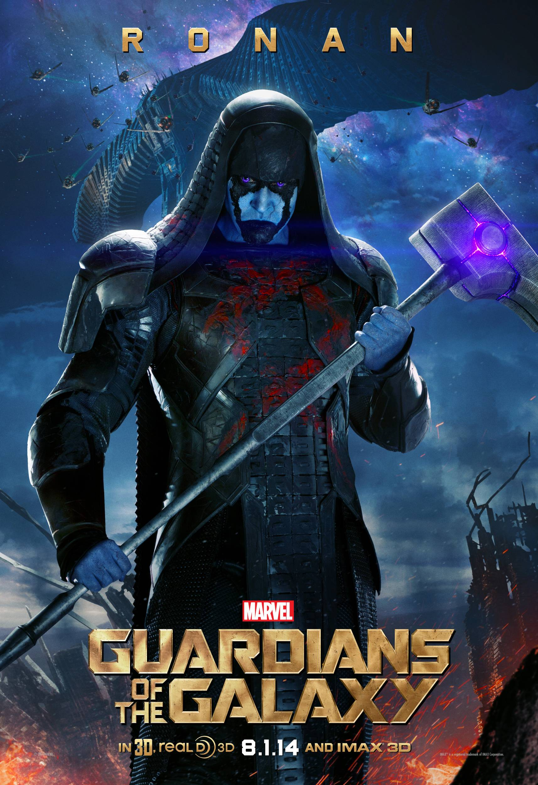 Ronan From Guardians Of The Galaxy Wallpaper
