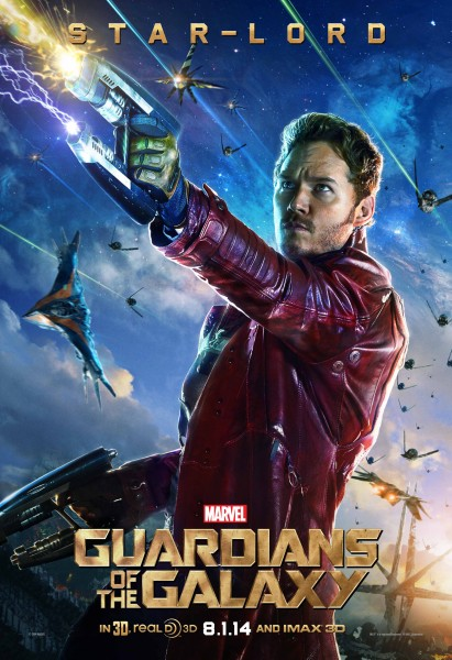 Star Lord/Peter Quill from Marvel's Guardians of the Galaxy movie wallpaper