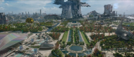 Xandar from Marvel's Guardians of the Galaxy movie wallpaper
