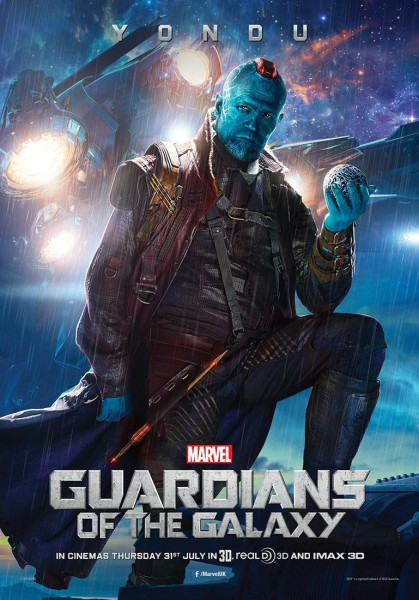 Yondu from Marvel's Guardians of the Galaxy movie wallpaper