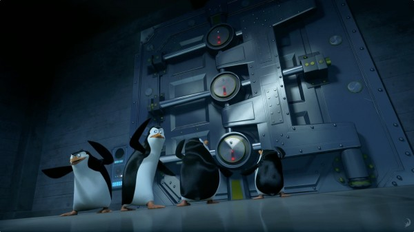 The Penguins of Madagascar: Skipper, Kowalski, Rico and Private