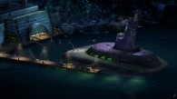The secret base of Dr. Octavius Brine from the Penguins of Madagascar movie wallpaper