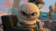 Short Fuse the arctic seal from The Penguins of Madagascar movie wallpaper