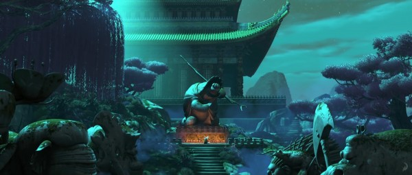 The Jade palace from Kung Fu Panda 3