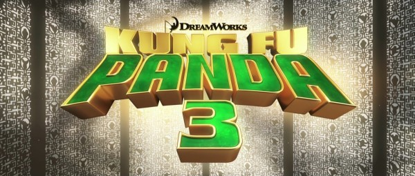 title screen from Kung Fu Panda 3 - DreamWorks CG animated movie wallpaper