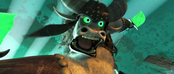 Kai the villain from Kung Fu Panda 3 - DreamWorks CG animated movie wallpaper