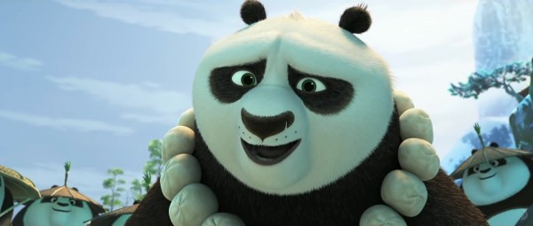 Po from the DreamWorks CG animated movie Kung Fu Panda 3