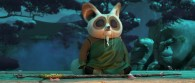 Shifu from the DreamWorks CG animated movie Kung Fu Panda 3