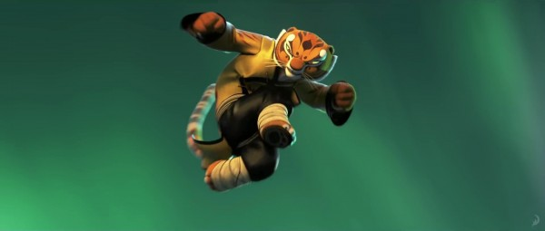 Tigress from Kung Fu Panda 3 - DreamWorks CG animated movie wallpaper