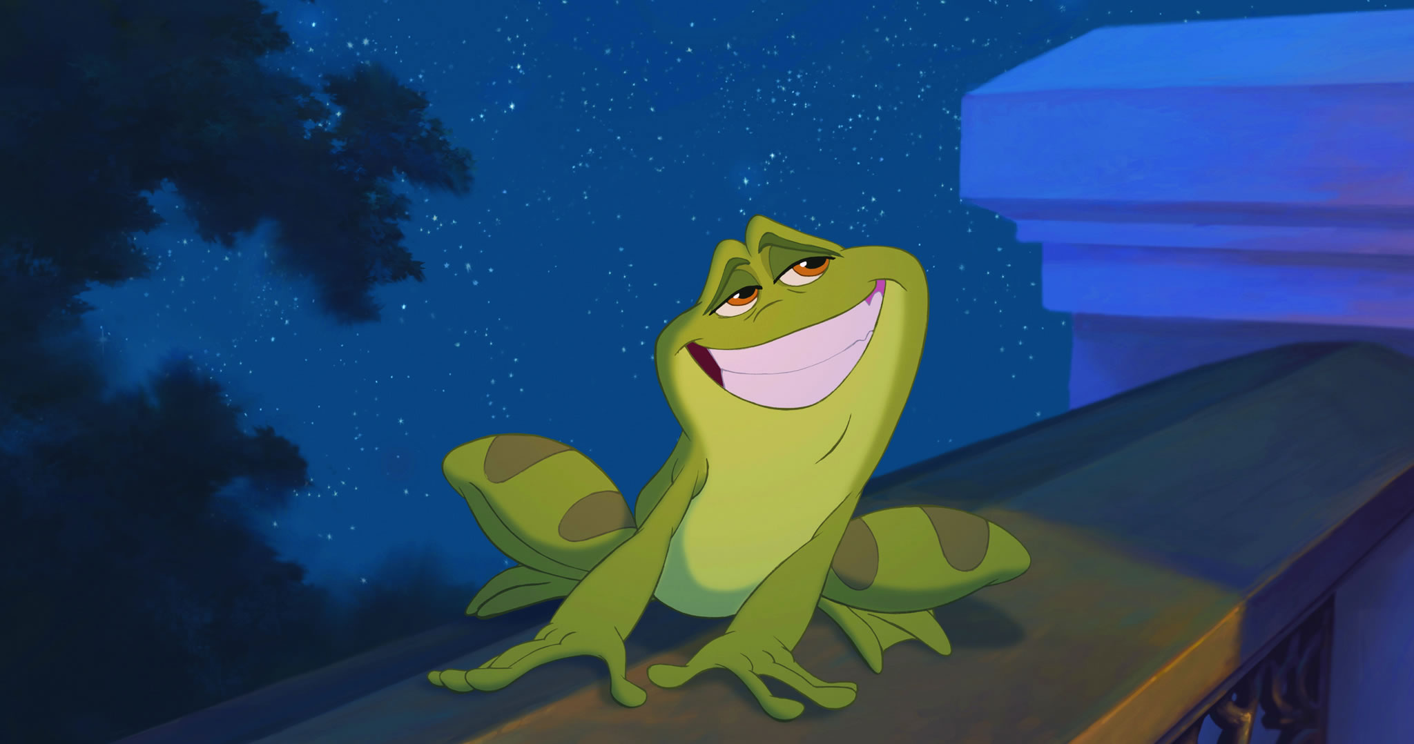 Naveen The Frog From Disney S Princess And The Frog Desktop Wallpaper