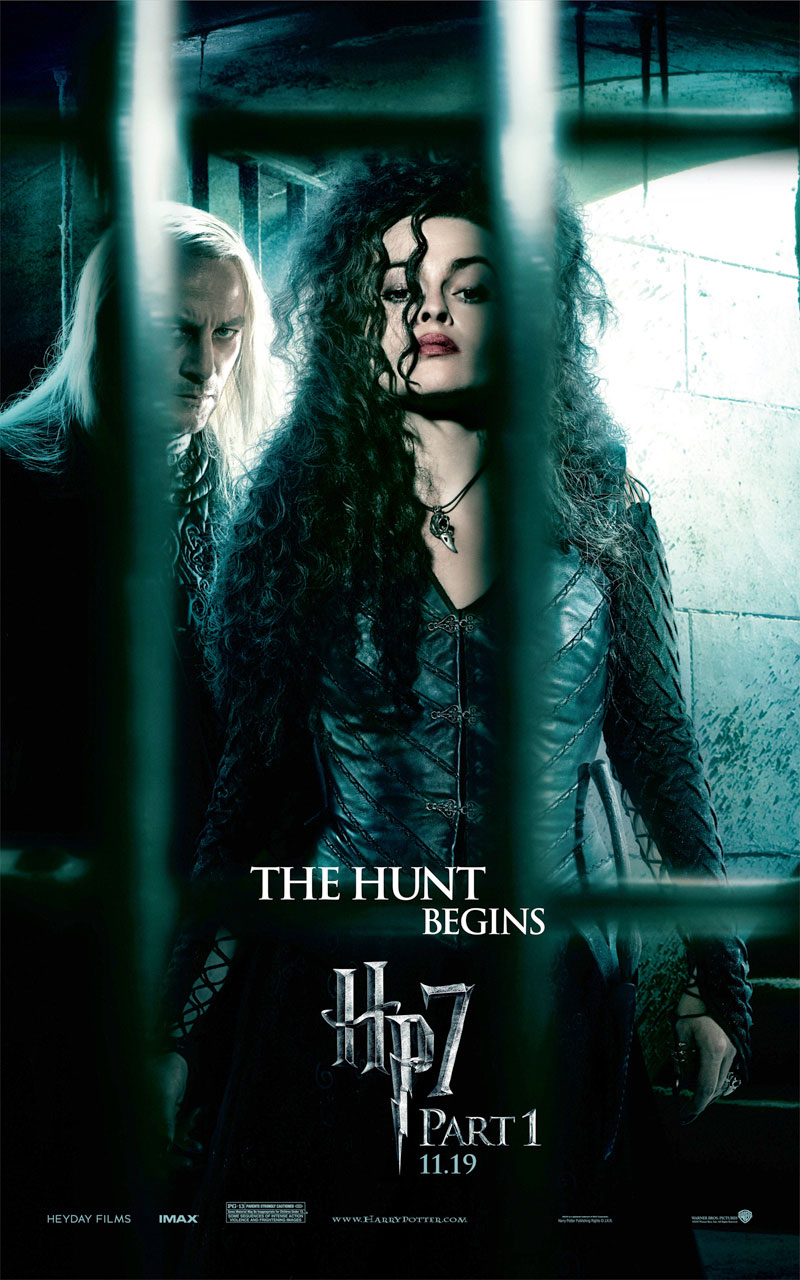 The Witch Bellatrix Lestrange From Harry Potter And The Deathly