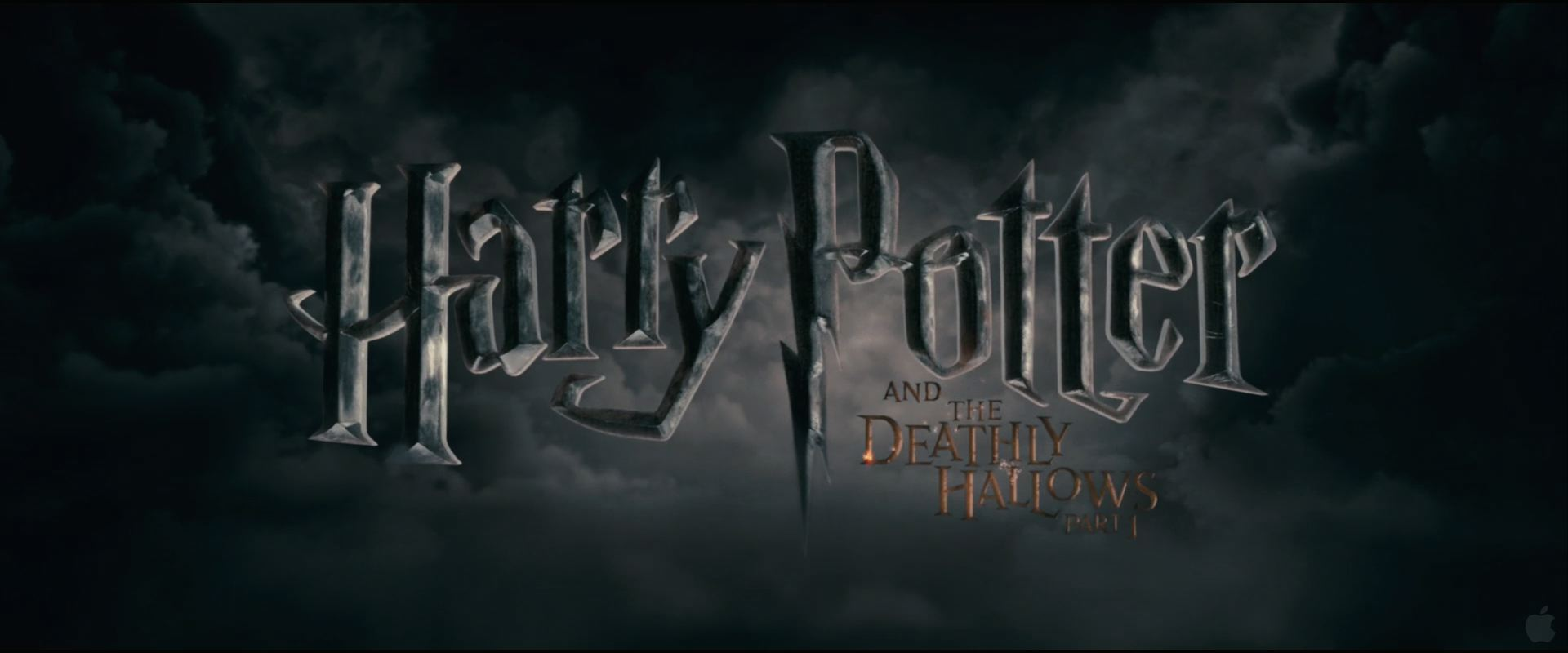Harry Potter And The Deathly Hallows Movie Logo Desktop Wallpaper