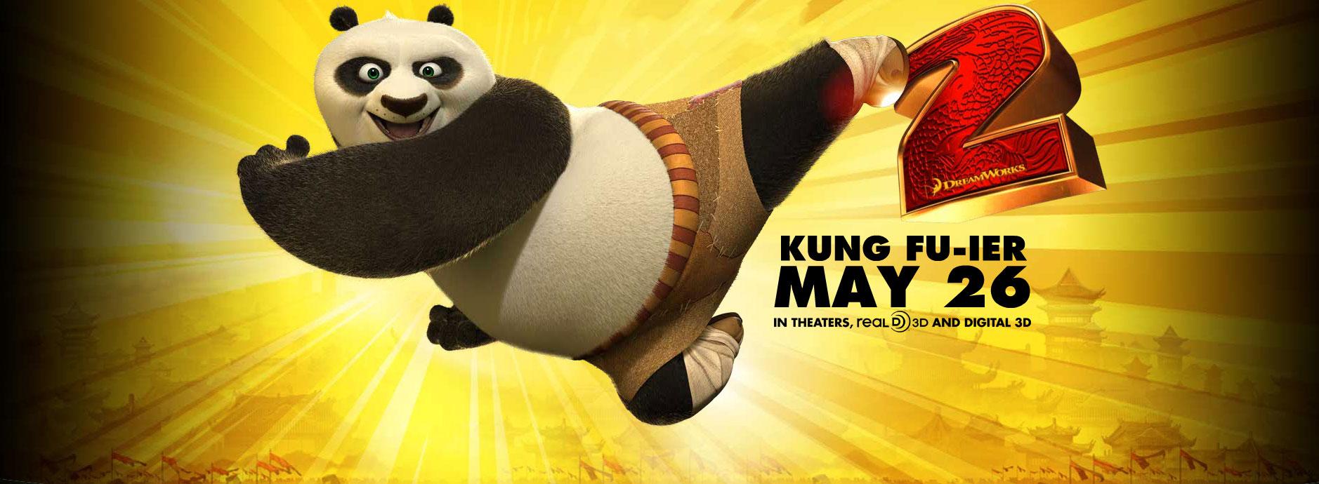 Po From Kung Fu Panda 2 Desktop Wallpaper