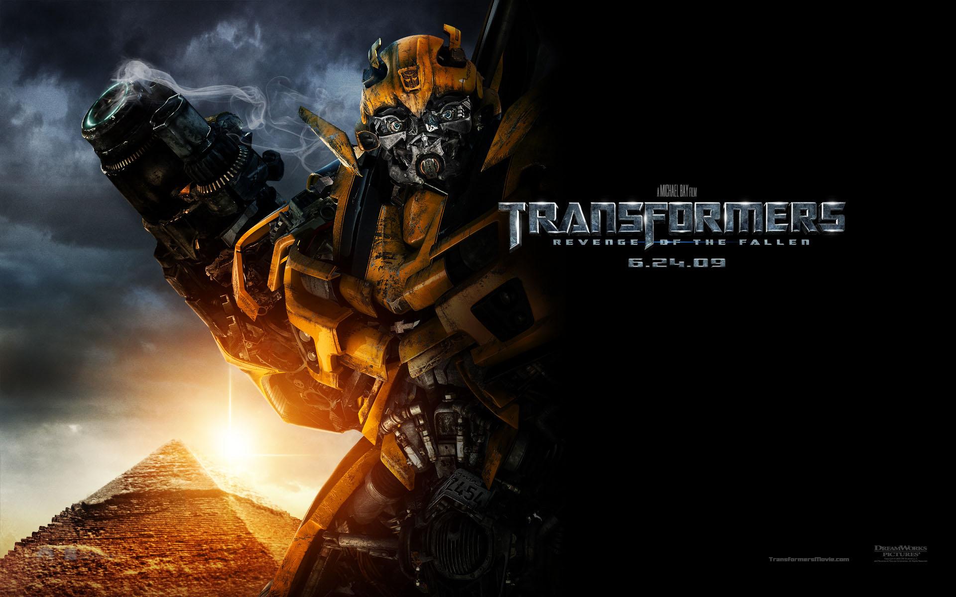 Bumble Bee Autobot In Transformers Revenge Of The Fallen Desktop