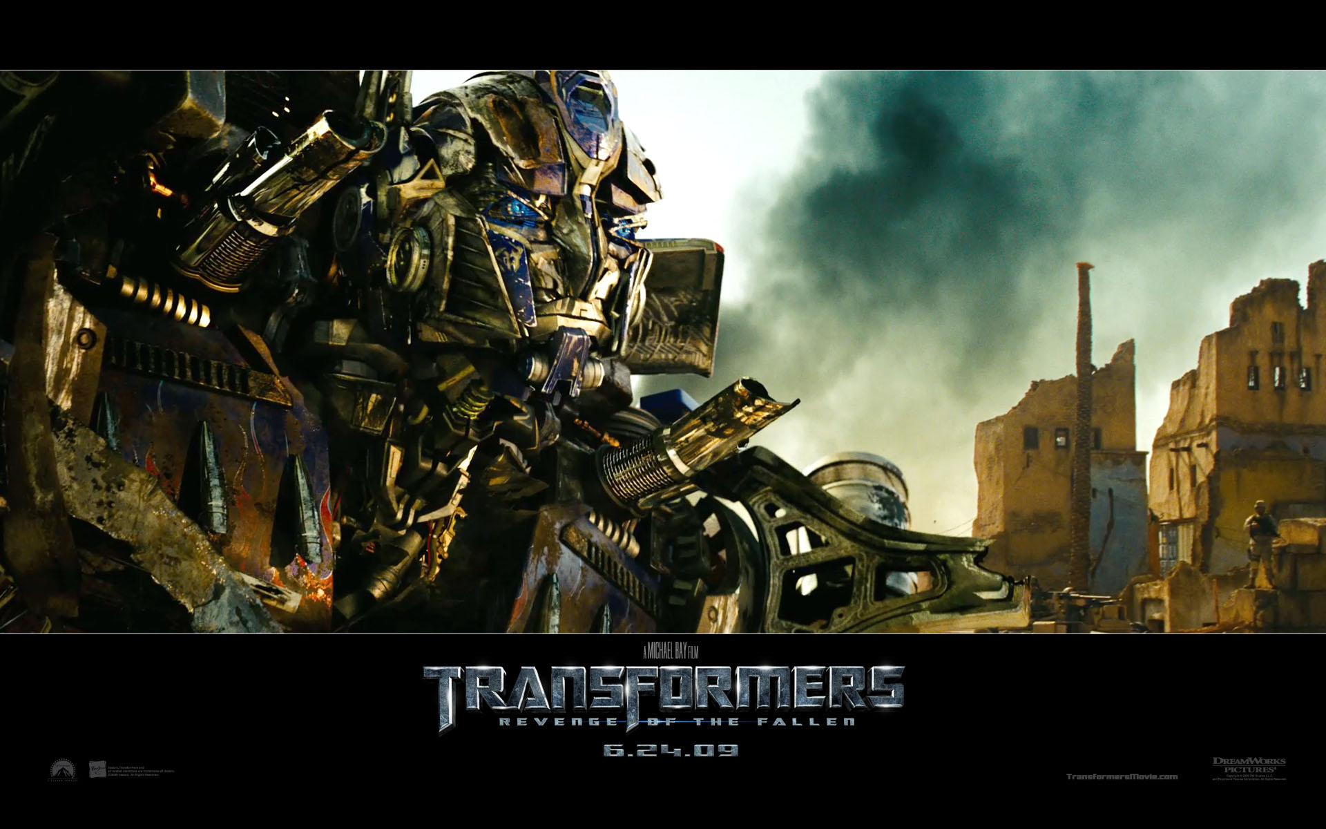 Optimus Prime In Transformers Revenge Of The Fallen Desktop Wallpaper